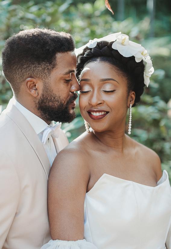 Christelle et Pierre Olivier mariage coiffure maquillage Widnie Alexis